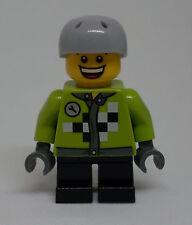 Lego Holiday - Junge ( Figur gelb grün Jacket Stadtbewohner City Urlaub ) - Neu