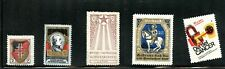 Poster Stam Lot Charity Stamps