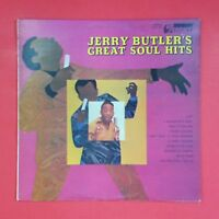JERRY BUTLER Great Soul Hits UPF107 LP Vinyl VG++ Cover VG+