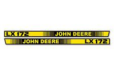 OEM LX 172 Hood Stripes Decal John Deere LX172 Tractor Stickers M116034 M116035
