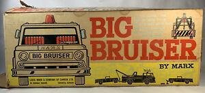Vintage 1960's Marx Super Highway Service Big Bruiser Box Only Read Description