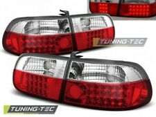 Faro Fanale Tuning HONDA CIVIC 09.91-08.95 3D Rosso/Bianco LED