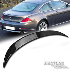 Carbon BMW E63 6-Series Coupe V-Look Trunk Spoiler 2004-2008 Before facelift