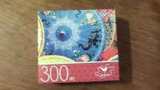 "Cardinal Jigsaw Puzzle 300 Piece PAPER PARASOLS 14"" x 11"" New"