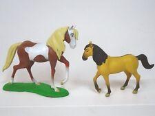 "RARE Dreamworks Spirit Stallion of the Cimarron PVC Horses 3-31/2"" tall"