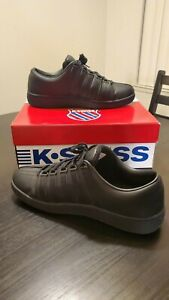 K-Swiss Shoes Mens Classic Luxury Edition 0001002 Size 12 Black