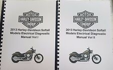 HARLEY DAVIDSON 2013 SOFTAIL MODELS ELECTRICAL DIAGNOSTIC MANUAL REPRINTED A4