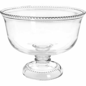 Anchor Hocking Glass Bowl on Foot, Classic Punch Pimms 3.6Lt 25 x 25 x 20 cm