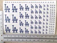 116 Blue Los Angeles Dodgers Decal Stickers Windows Laptops Helmets Phones