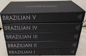 Brazilian Language Study Audio Course I, II, III, IV & V Gold 80 CD's Рimsleur