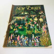 The New Yorker: Aug 4 1956 - Full Magazine/Theme Cover Ilonka Karasz