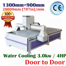 USB 3kw Ad & Woodworking CNC Router Engraver Machine, Vaccum Table+Vacuum Pump