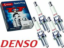 DENSO TT NICKEL SPARK PLUG X4 FOR MAZDA 323 B2600 HONDA CRV CIVIC ACCORD IMPREZA