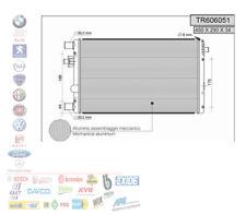 RADIATORE ACQUA MOTORE FIAT SEICENTO 600 1.1 40 KW TR606051 109327
