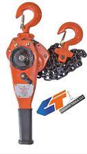1 Ton 2200 Lbs Lever Block Chain Hoist Ratchet Type Comealong Puller Lifter