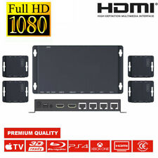 SC-50 HD 4X PoE HDMI Over CAT 5e/6 Extender Full HD Kit 1 Tx 4 Rx