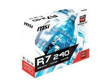 MSI Gaming AMD Radeon R7 240 2GD5 GDDR5 HDMI 128-bit HDCP Support Graphics Card