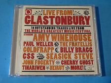 LIVE FROM GLASTONBURY: Amy Winehouse,Paul Weller,Coldfrapp,Billy Bragg,Fratellis