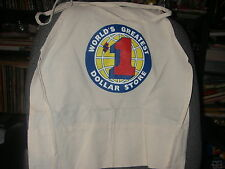 WORK APRON W/ POCKETS WORLD'S GREATEST DOLLAR STORE NEW