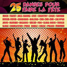 CD 25 danses pour faire la fête