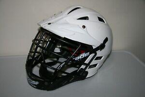 Lacrosse Helmet Cascade Helmet Size XXS White DAMAGED
