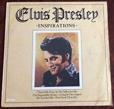 ELVIS PRESLEY INSPIRATIONS ALBUM, VINTAGE LP 33,EXCELLENT CONDITION