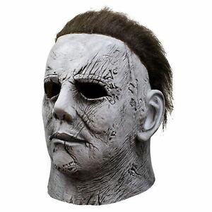 Horror Michael Myers Killer Mask Cosplay Horror Latex Costume Party Halloween
