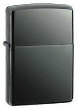 New ZIPPO Lighter Black Ice Free Shipping 100% Genuine
