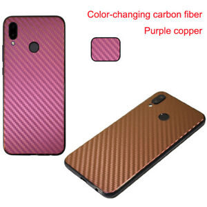 Back Cover Protector For OnePlus LG Meizu Discolor Carbon Fiber Protective Film