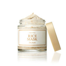 [I'M FROM] Rice Mask 110g/ organic brightens exfoliate moisturize wash-off mask