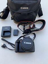 Canon EOS Rebel T3 12.2MP Digital SLR Camera Lens EF-S 18-55mm IS Bag Charger