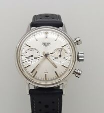 Fine & Vintage S.Steel Heuer Carrera Chronograph Ref 73321T  Cal. 7730