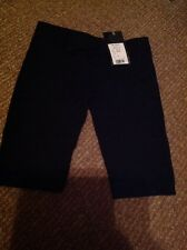 Flowers By Zoe Girl XL Black Long Short With Pockets Nwt