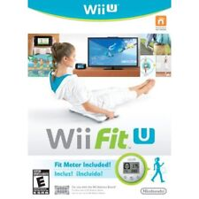 Wii Fit U W/fit Meter Wii U With Manual And Case Very Good 8Z
