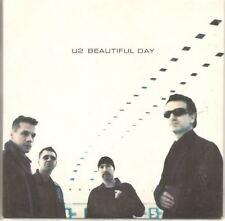 U2 Beautiful Day Summer Rain 2 TRACK CARDslv CD SINGLE austria