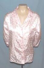 Simply Awesome Miss Elaine Pink Print Polyester Sleep Shirt Size Medium