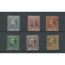 Nederland 7-12 Willem III 1867 LUXE VFU/gebr  CV 400 €