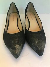 Women's Sesto Meucci Binny Black Sparkle Heels Shoes Pumps Sz 12B