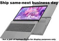 """New Lenovo IdeaPad 3 Slim 15.6"""" IPS FHD Laptop Intel Core i3 8GB Win10 256GB SSD"""