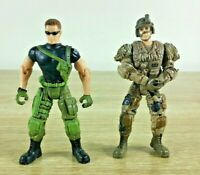 S1 Steel Military Army Police Soldier SWAT Action Figure Lot 2