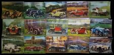 BHUTAN 3-D, 15 Different Cars-Plastic Surfaced Stamps-MNH