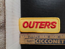 Outers Gun Shooting Hunting Reloading Supplies Patch  113OF.
