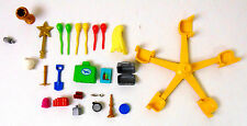 Playmobil 25 Replacement Parts Luggage Balloon Book Candle Brush Cup FREE SHIP
