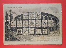 6224) Verona 1949 X° Giornata Italiana del Francobollo - affrancatura da Lire 12