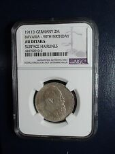 1911 D Germany 2 Mark NGC AU Details 2M SILVER Coin PRICED FOR QUICK SALE NOW!