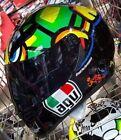 #Mugello #Italia #VR46# ROSSI AGV K3 SV # MOTO GP Tartaruga Turtle CASCO PARA