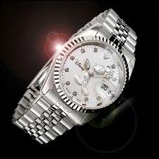 Walt Disney Princess Mickey Mouse Men Women Unisex Fashion Sliver Wrist Watch