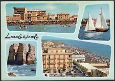 AA7871 Ladispoli (Roma) - Vedute - Cartolina postale - Postcard