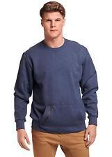 Russell Athletic Men's Cotton Rich Fleece Sweatshirt, Blue, Size XS