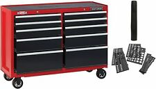 """CRAFTSMAN Tool Chest w/ Drawer Liner Roll/Tray Set 52"""" 8 Drawer Red CMST82774RB"""
